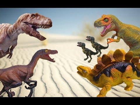 Долина Динозавров. ТИРАННОЗАВРЫ, ГИГАНОТОЗАВР, СПИНОЗАВРЫ и др. Сборник мультиков про динозавров