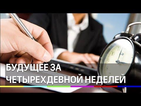 Будущее за четырехдневной неделей  Медведев
