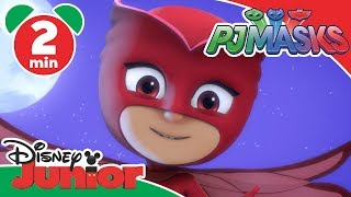 PJ Masks | Owlette: Super Owl Eyes | Disney Junior UK