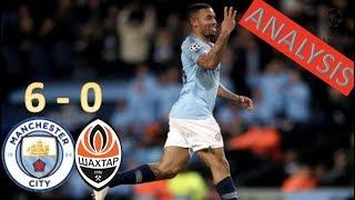 Jesus Hat-Trick & Mahrez Assist Help City Batter Shakhtar | Man City 6 - 0 Shakhtar Donetsk