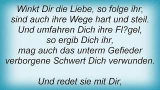 Schiller - Der Prophet Lyrics