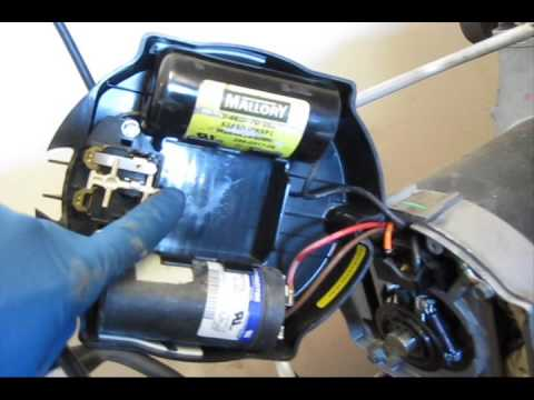 Craftsman Air compressor startup problem and fix - YouTube