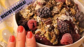 Healthy Baked Granola | Detox Tea | Sled Training