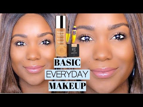 OILY SKIN Natural Soft Glam Makeup Tutorial