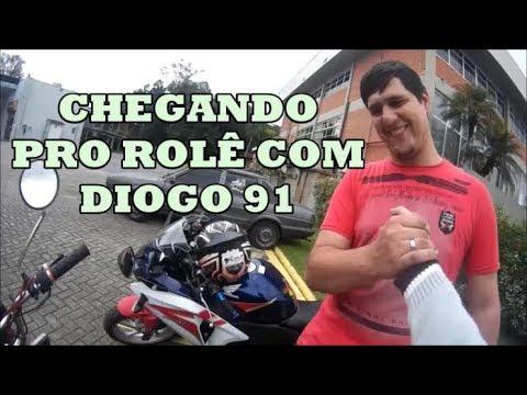 INDO PRO ROLE COM DIOGO 91 - Tramps Motovlog