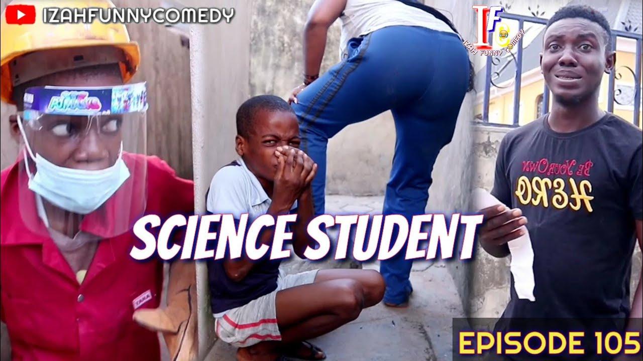 SALAM ALAIKUM SCIENCE STUDENT (Mark Angel Comedy) (Izah Funny Comedy) (Episode 105)