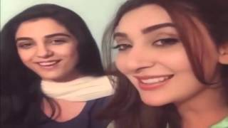 Maya Ali And Ayesha Khan Singing Mann Mayal