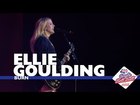 Ellie Goulding - Burn  At Capitals Jingle Bell Ball