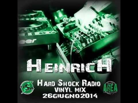Dj HeinricH Vinyl Mix 26-06-14 Hardsock Radio / Tracklist