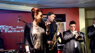 Robin McKelle - Don't give up (Fnac showcase - Paris - February 3rd 2012)