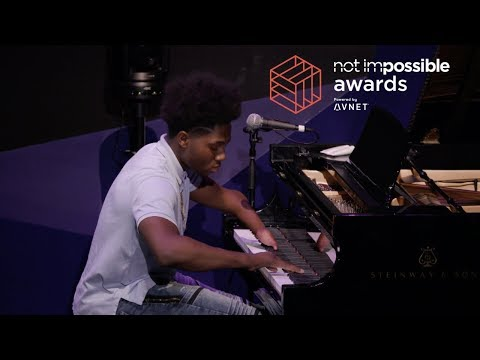 """""""Dreams Are Forever"""" By Darrius Simmons Performed Live At The Not Impossible Awards"""