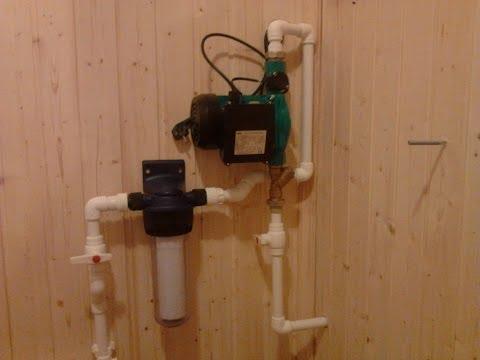 Водопровод, канализация на даче в Орехово - Зуево