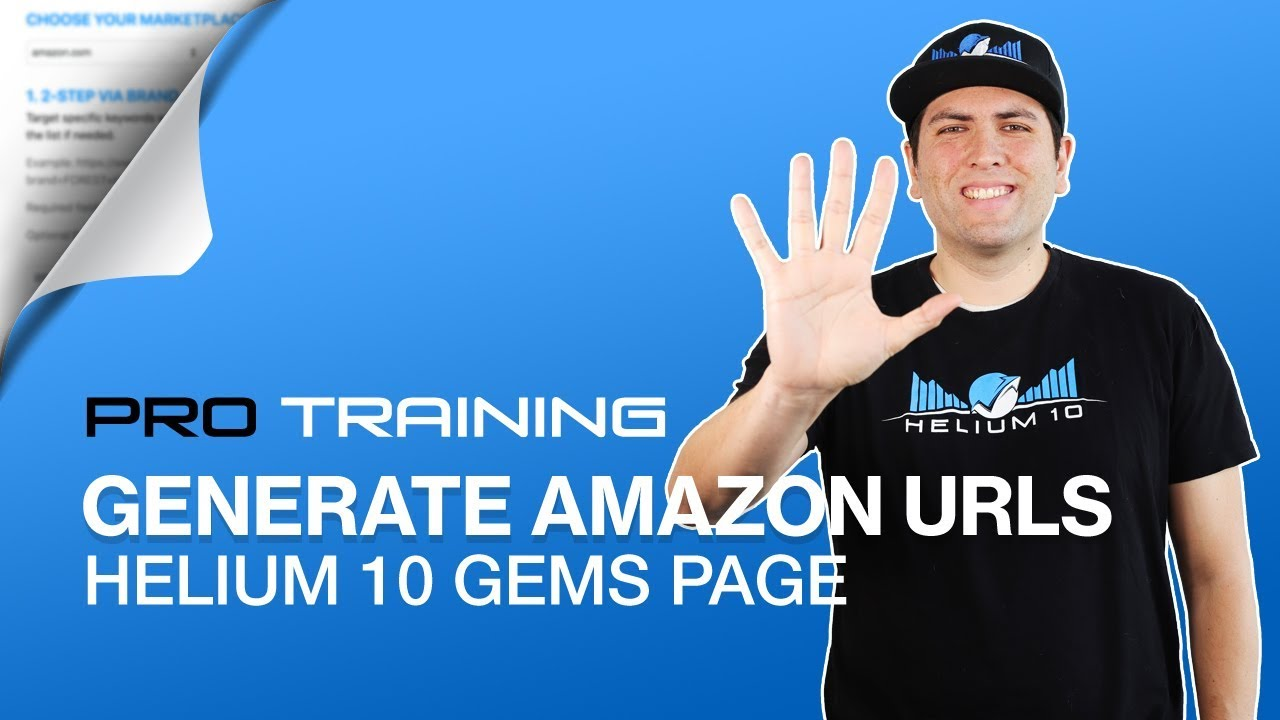 New GEMs Page for Amazon URLs - Boost Listing Traffic | Helium 10 URL Generator