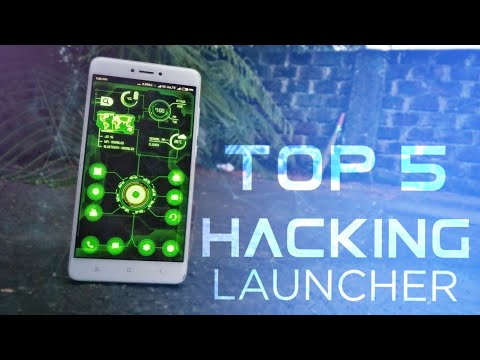 Top 5 Hacking Launcher - 2018 || Best Hacking Launcher For Mobile -2018 || Tech Blowing