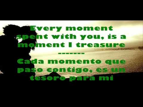 I Don't  Want to Miss a Thing - Aerosmith (English - Spanish) lyrics