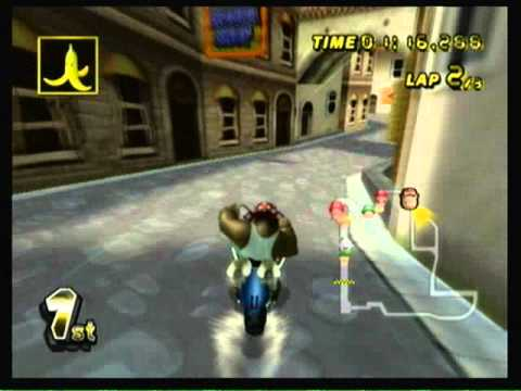 Mario Kart Wii - 100cc Banana Cup Grand Prix [3 star rank]