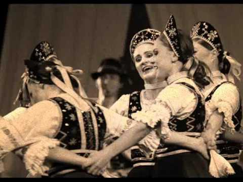 Sága krásy - Slovak folk music. Kedz sebe zašpivam. Eastern Slovakia.