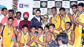 Abhishek Bachchan at All India Inter University Basketball Tournament   Galatta Tamil