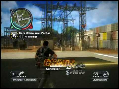 Just Cause 2 0-100% Kem Udara Wau Pantas