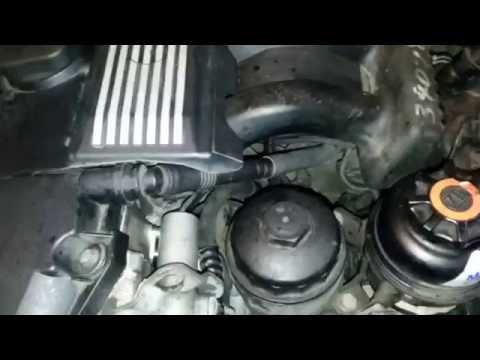 BMW E39 M52 замена датчика коленвала и распредвала