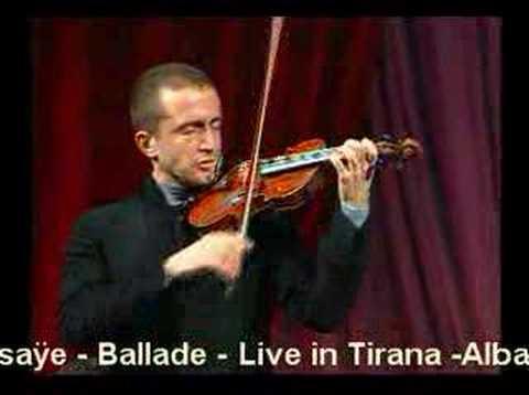 "Tedi Papavrami - E.Ysaÿe - ""Ballade"""