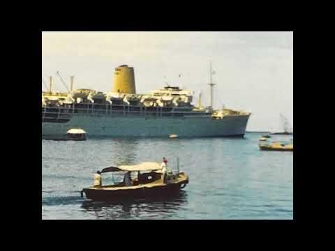 The SS Iberia ship at Aden 1960s