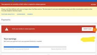 यूट्यूब Channel को Bank Account से कैसे जोड़े//How to add payment method in adsense, link with bank