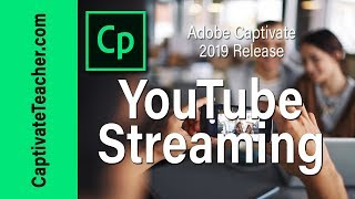 Add Slide Video from YouTube in Adobe Captivate 2019