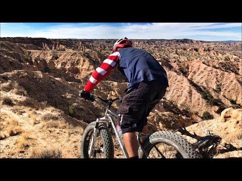 Desert Mountain Biking, Fat Bike Style