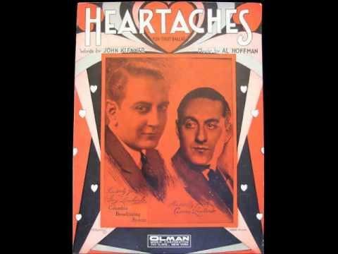 Guy Lombardo - Heartaches (1931)