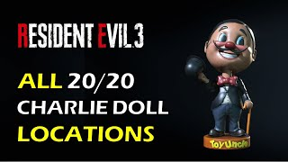 All Charlie Doll Locations | Mr Charlie Bobblehead Locations | Resident Evil 3 Remake