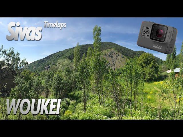 woukei - Sivas - Göl dağıyla Bulutların dansı - Relaxing Timelapse 4K