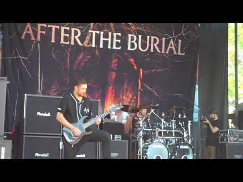 After The Burial - Lost In The Static & Collapse (Warped Tour 17)