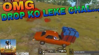 DROP KO LEKE CHAL_PUBG MOBILE HIGHLIGHT BY MD_IS_CRAZY.