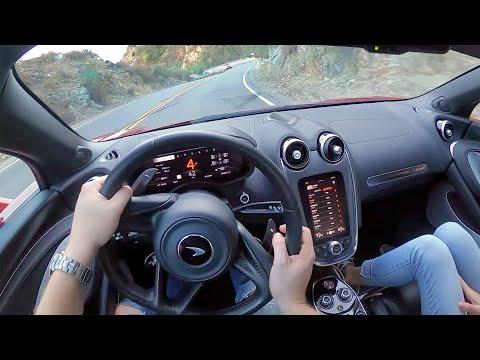 2020 McLaren GT – POV Test Drive (Binaural Audio)