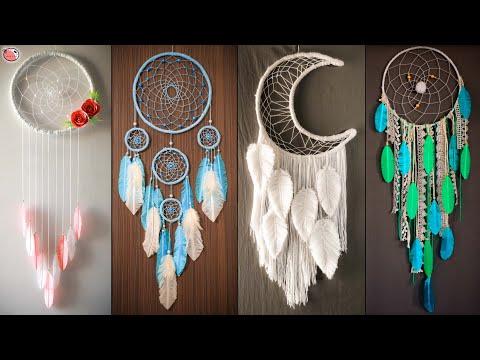 DIY Room Decor | Dream Catcher Wall Hanging Craft!!..
