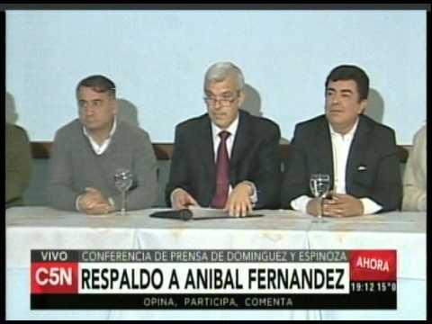 C5N - Eleccion 2015: Conferencia de prensa de Dominguez y Espinoza