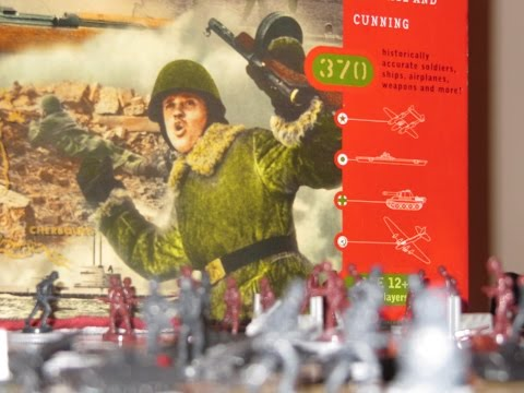 Axis & Allies Europe  Spring 1941 game Set Up video