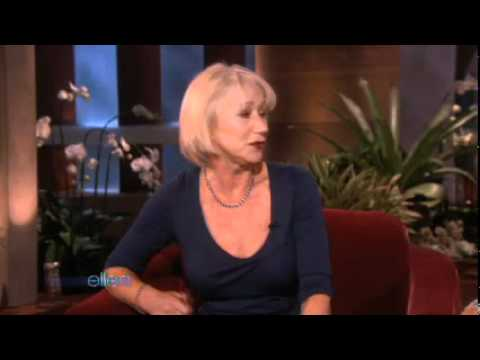 Helen Mirren Tells Ellen Everything!