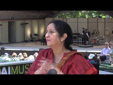 Ojai Music Festival 2017: Steve Smith interviews Aruna Sairam