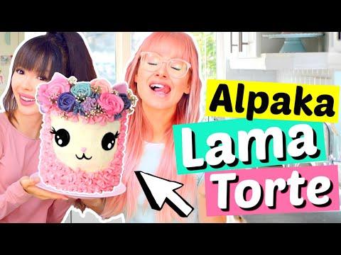 Wir backen eine LAMA ALPAKA TORTE 🎂| ViktoriaSarina