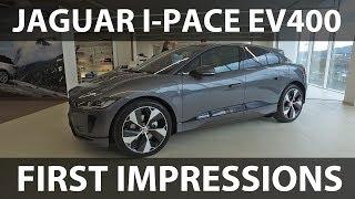 Jaguar I-Pace first impressions