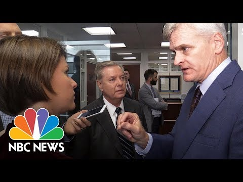 Bill Cassidy, Lindsey Graham Respond To Kimmel's 'Liar' Comment Over Health Bill | NBC News