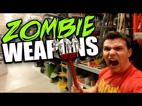Buying ZOMBIE Survival Weapons