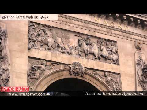 Vacation rental in Paris - Two bedroom accommodation on the Boulevard de Bonne Nouvelle