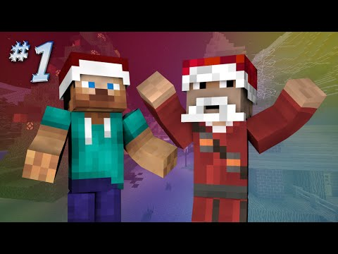 Saving Christmas - PANIC IN CHRISTMAS TOWN (Minecraft Roleplay) #1