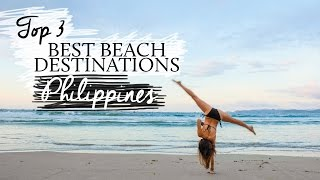 Top 3 Summer Beach destinations in the Philippines || Kryz Uy