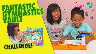 FANTASTIC GYMNASTICS VAULT CHALLENGE - Unboxing Mainan Terbaru Hasbro