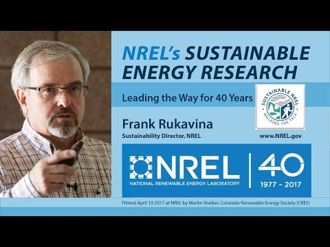 NREL's Sustainable Energy Research 1977-2017