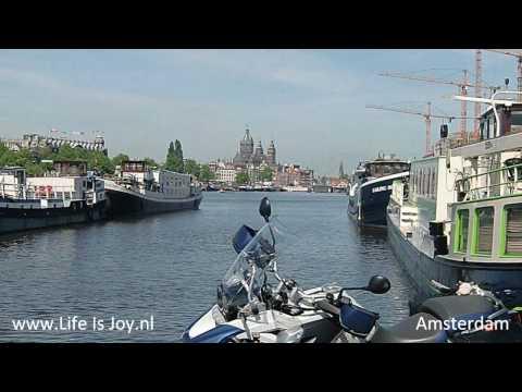 The Netherlands Holland on a motorbike Amsterdam Volendam TT Assen Dikes BMW water managment